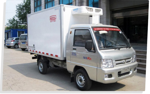 为冷链行业提供专业的冷藏车