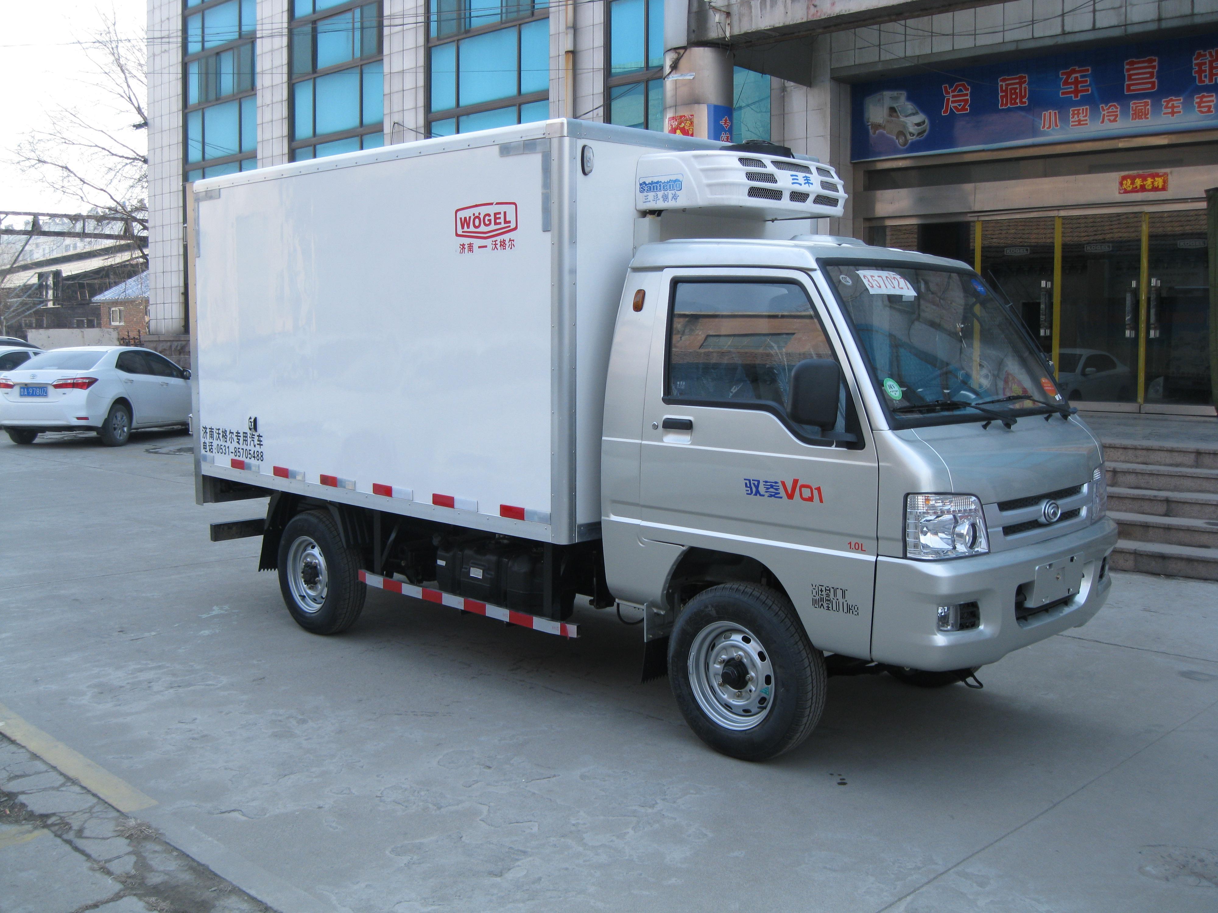 小型冷藏车 福田驭菱小型冷藏车(长轴)