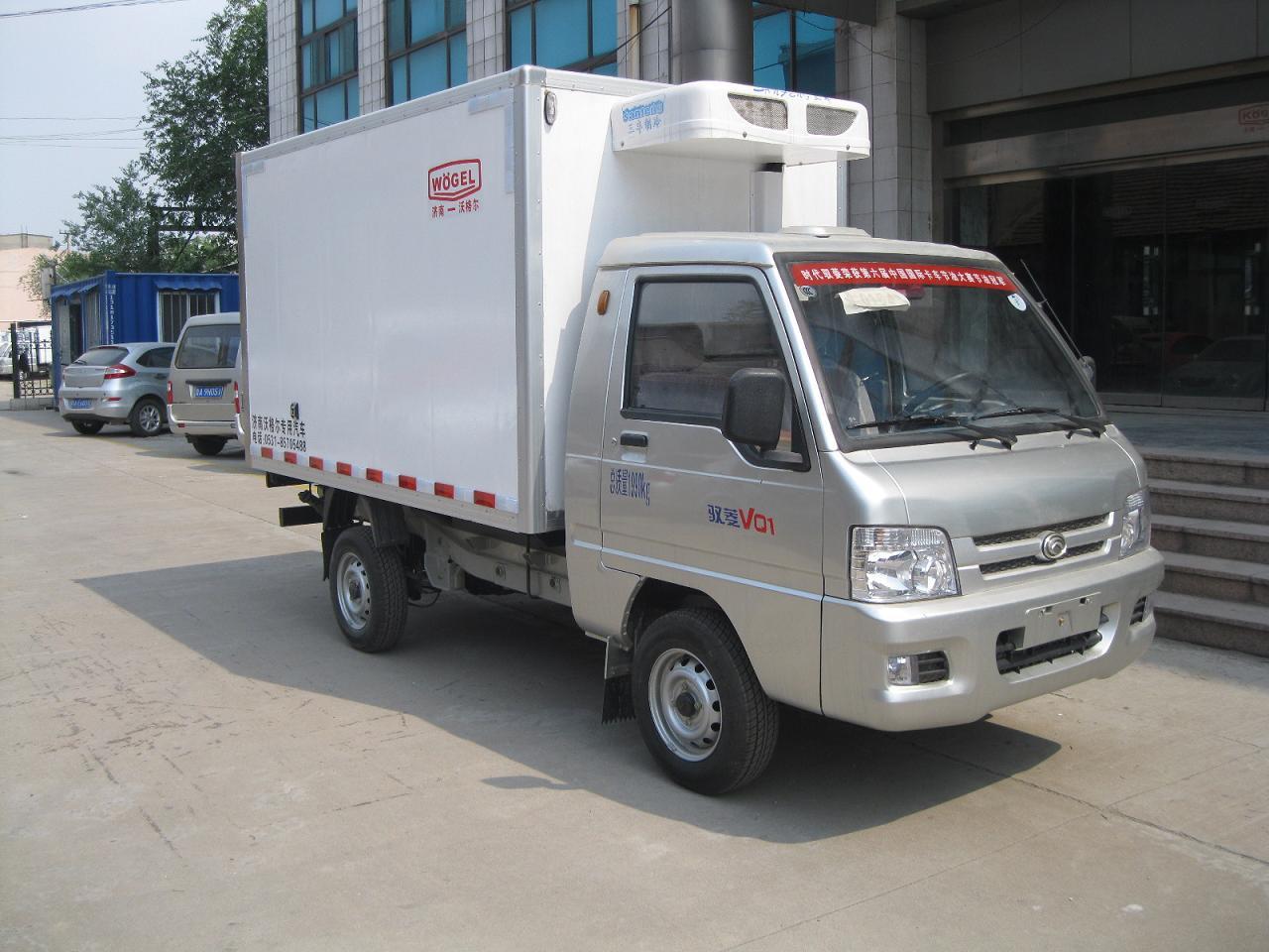 海鲜冷藏车 福田驭菱小型冷藏车(短轴)