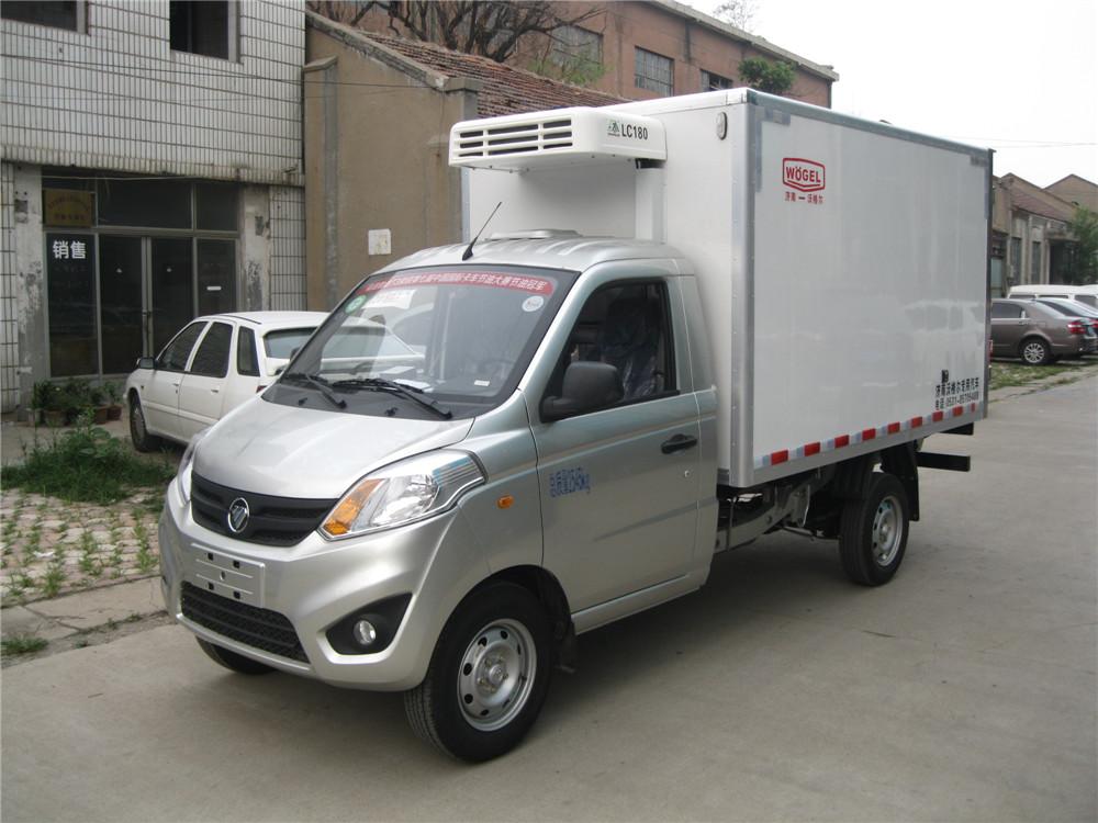 冷饮冻品冷藏车 福田奥铃T3小型冷藏车