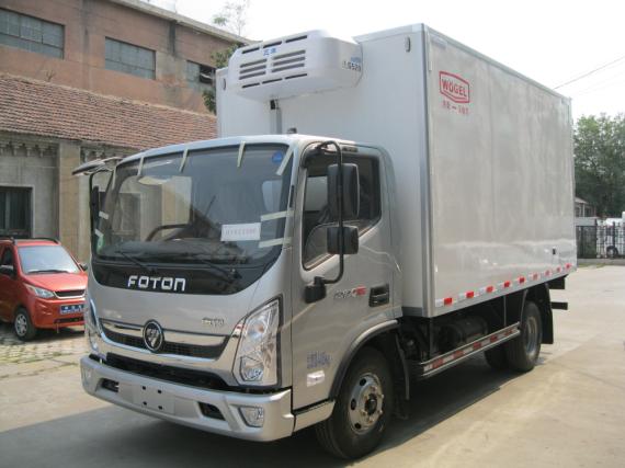 小型冷藏车 福田奥铃M4冷藏车(康机3.8)