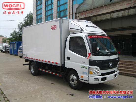 小型冷藏车 福田欧马可冷藏车(康机2.8)宽体