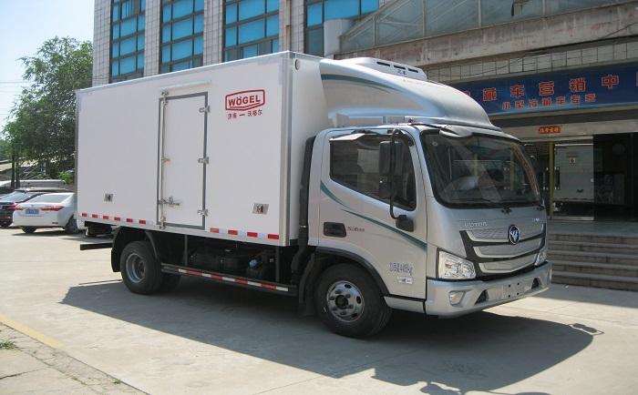 小型冷藏车 福田欧马可S3冷藏车(康机3.8)